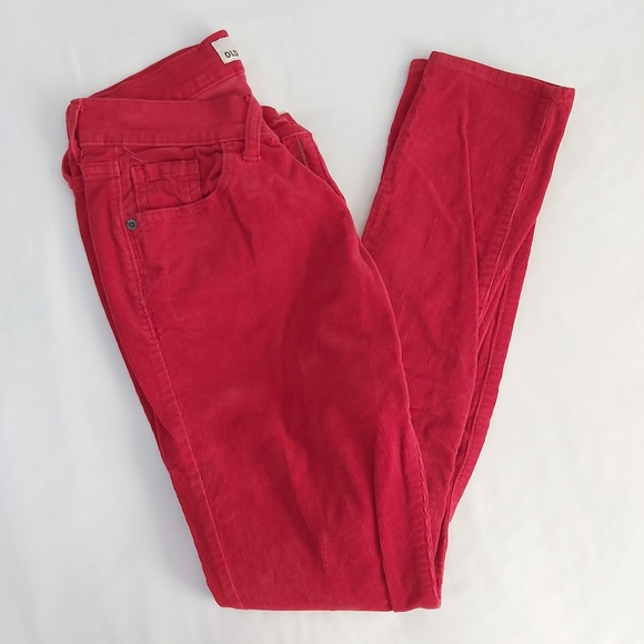 Old Navy- Red Corduroy Pants